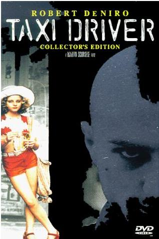 DVD Cover of Taxi Driver