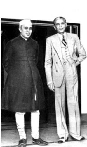 Nehru and Jinnah